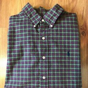 Ralph Lauren Mens Large Long Sleeve Button Down L